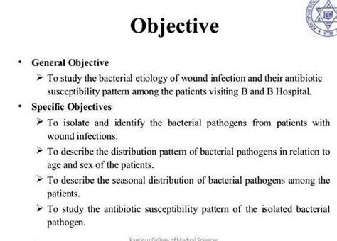 How To Write A Objective by General And Specific Objectives In Thesis Writing