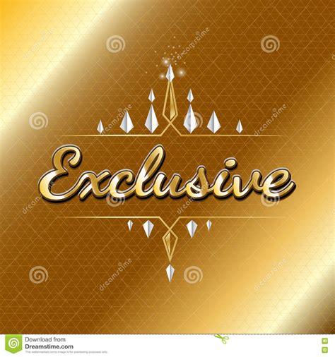 VIP Exclusive Logo Design. Luxury Concept Stock Vector ...