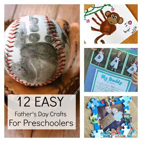 12 easy s day crafts for preschoolers to make 793 | 12 Fathers day craft gift ideas