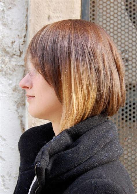short ombre hair style bakuland women man fashion blog