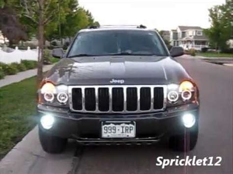 jeep wk spyder lights before after