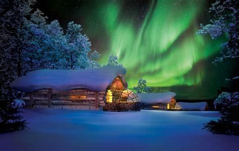 northern lights igloo kelo glass igloo northern lights holidays at kakslauttanen