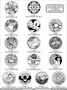 Scottish Symbols And Meanings Chart Ancient Scottish Symbols The Most Common Pairings Of