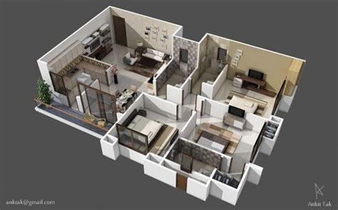 25 Three Bedroom Houseapartment Floor Plans by 25 Three Bedroom House Apartment Floor Plans Apartment