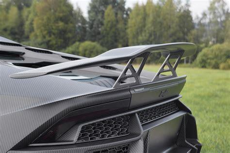 mansory constructs  carbon fiber suit  lambos huracan
