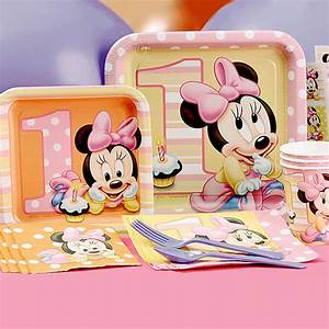 Minnie Mouse First Birthday Partyware | Disney Baby