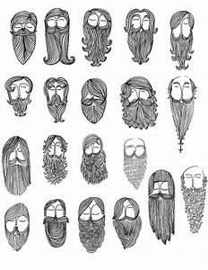 A Master List of Beard and Mustache Charts - Zouch