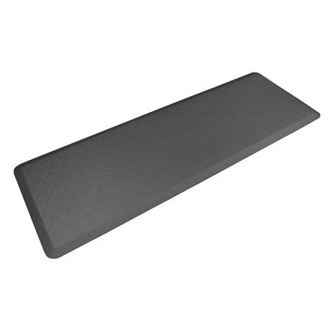 grey kitchen mat wellness mats grey motif trellis 6 ft x 2 ft kitchen