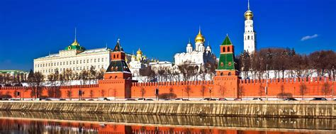 The Kremlin - Moscow and central Russia - Russia