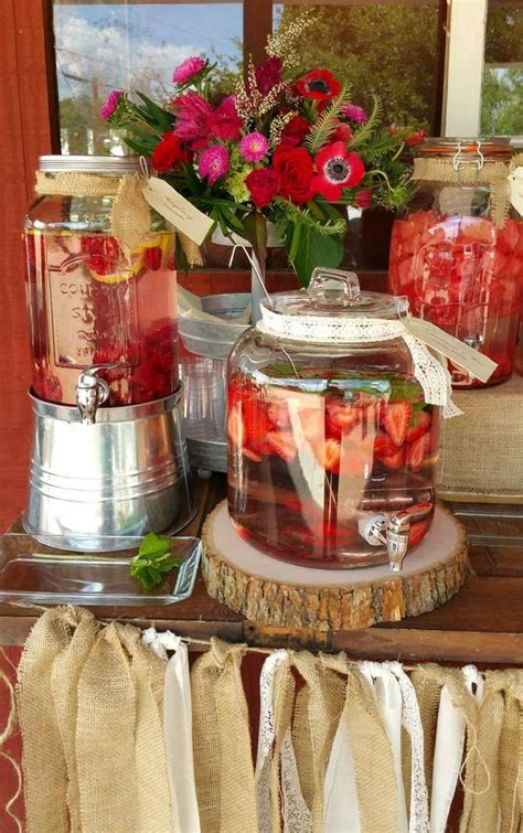 Country  Rustic Rehearsal Dinner Dinner Party Party Ideas