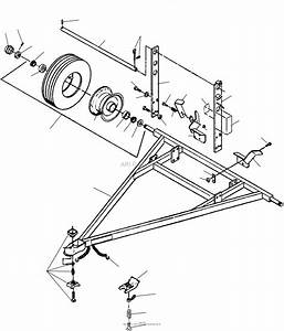 Bunton  Bobcat  Ryan 544856a Tote Trailer Parts Diagram