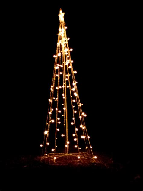 lights shaped like tree yard decoration picture free photograph photos