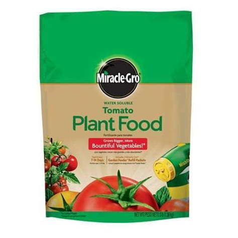 miracle gro tomato plant food 3 lb 18 18 21 garden