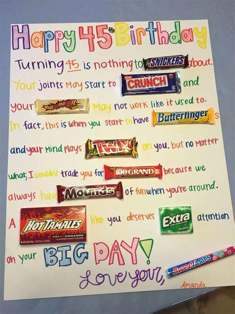 Candy bar happy birthday sayings. Friends Birthday Ecards Best Of Candy Birthday Card Diy ...