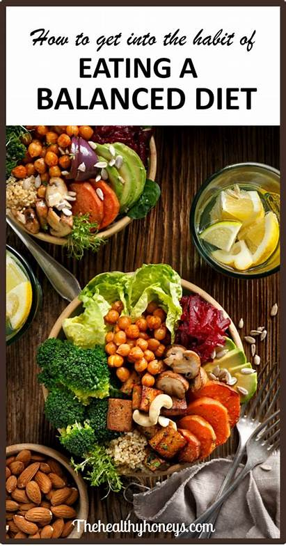 Healthy Habits Diet Balanced Eating Related Leptin
