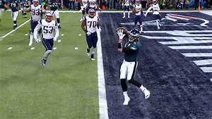 Super Bowl Lii  Nick Foles Scores Breathtaking Touchdown