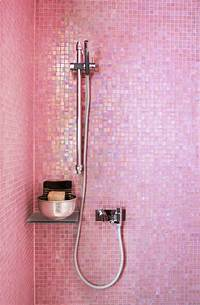 pink bathroom tile Moon to Moon: Beautiful Bathroom Tiles....