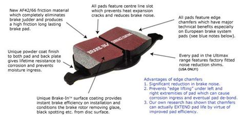 General Replacement Pads