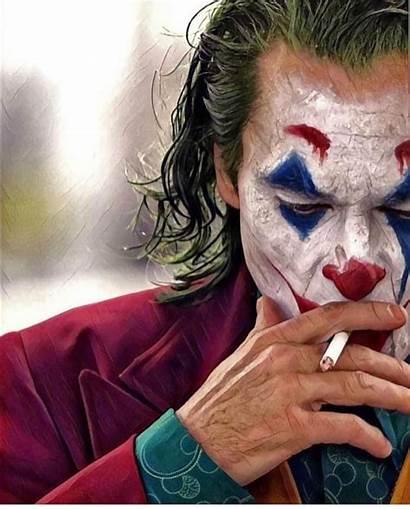Joker Instagram Joaquin Phoenix Smoke Half