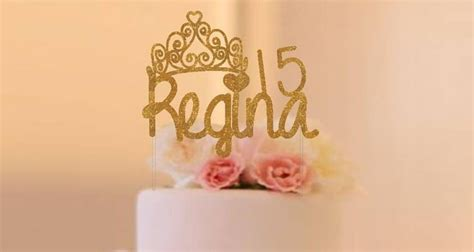 quinceanera cake toppers 15 adorable quinceanera cake toppers from etsy