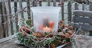 Garten Weihnachtlich Dekorieren : weihnachtsdeko mit tannenzapfen mein sch ner garten ~ Michelbontemps.com Haus und Dekorationen