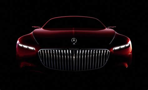Wallpaper Vision Mercedes Maybach 6 Concept Cars Hd 5k