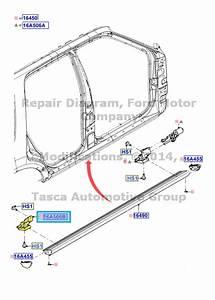 New Oem Lh Rear Power Deployable Running Board Bracket