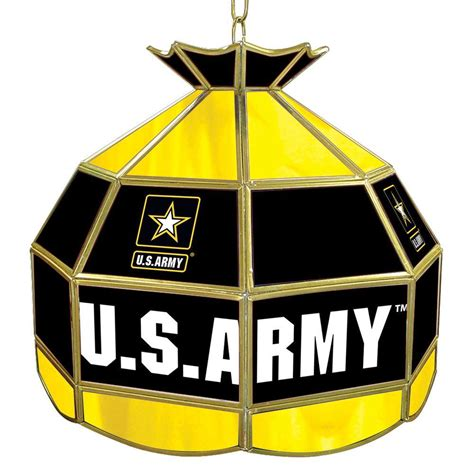trademark global united states army   gold hanging