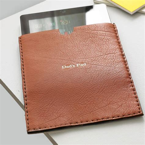 Handmade Leather Case For I Pad By Parkin & Lewis ...