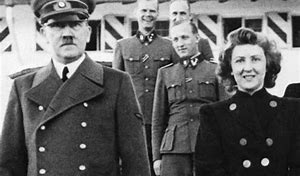 Image result for Adolf Hitler and Eva Braun were married