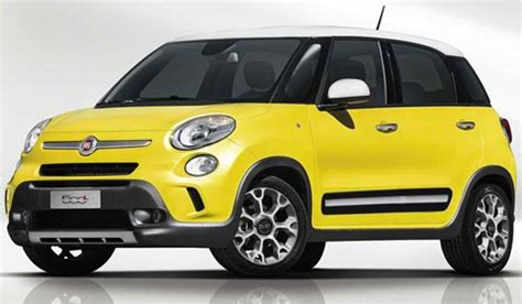 Fiat 500 Per Gallon by 2014 Fiat 500l Trekking Review Pictures Price Mpg