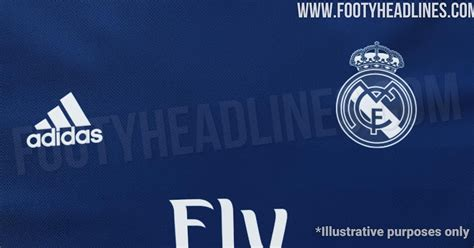 leaked real madrid kit navy footy headlines