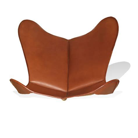 Cover for Hardoy Butterfly Chair ORIGINAL leather tobacco