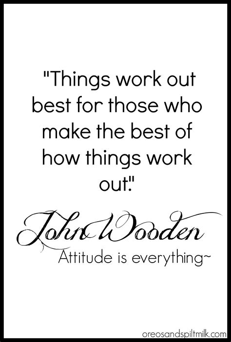 Quote Of The Day: John Wooden | Inspirational, Wisdom and