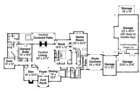 six bedroom house plans chateau house plans picardie villa 30 676 associated