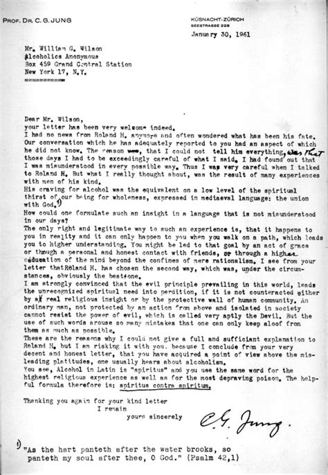 dr carl jungs letter  bill  jan