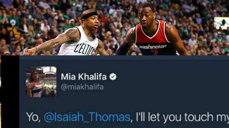 Men Baker Mayfield Shut Down Mia Khalifa Twitter Flirting