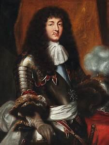 Louis 14 : pierre mignard after louis xiv with dark full bottomed wig and armour portraits ~ Orissabook.com Haus und Dekorationen