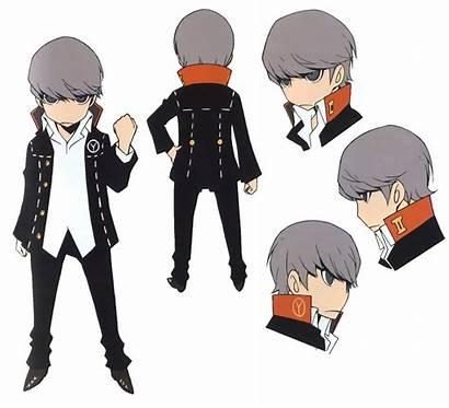 Concept Persona P4 Yu Narukami Character Hero