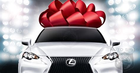 lexus bow tis the season which vehicle would you gift if you were
