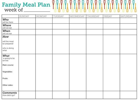 monthly meal planner template printable blank calendar org free calendar templates we