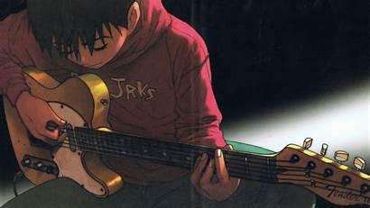 Guitar Anime Wallpapers Guy Sad Boy