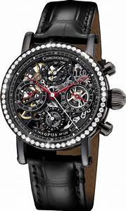 Chronoswiss Sirius Chronograph Black Dlc Skeleton Diamonds