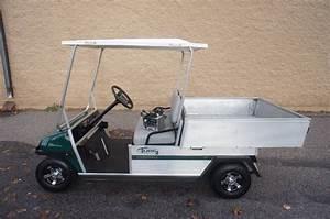 Club Car - Turf 2 Carryall With Power Dump Box