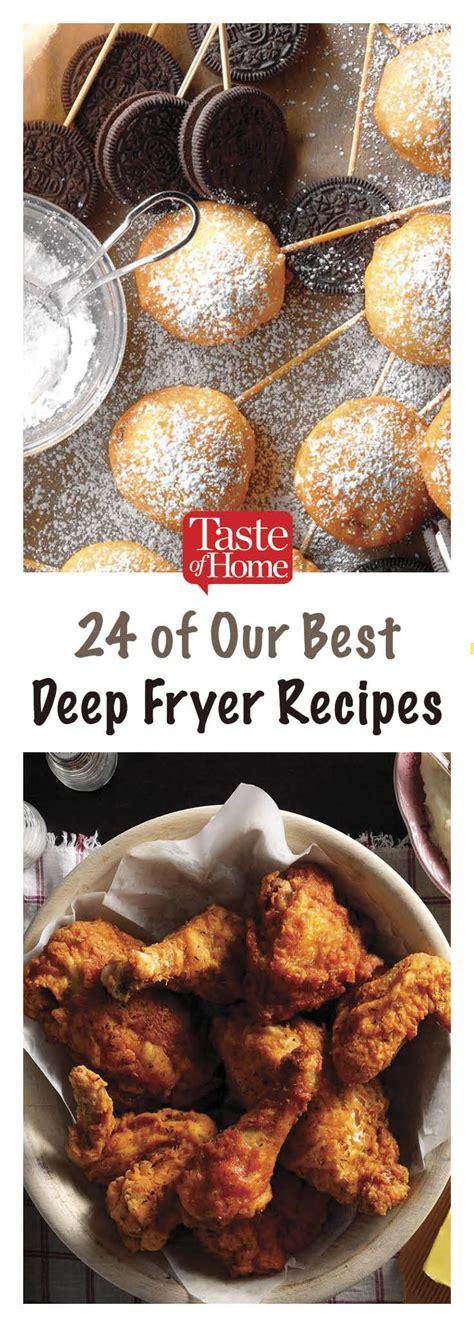 deep fryer recipes fried tasteofhome