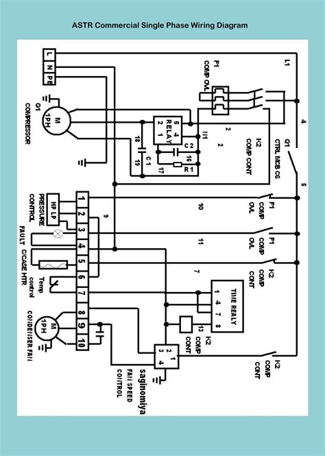 refrigerator wiring diagram compressor pdf gallery