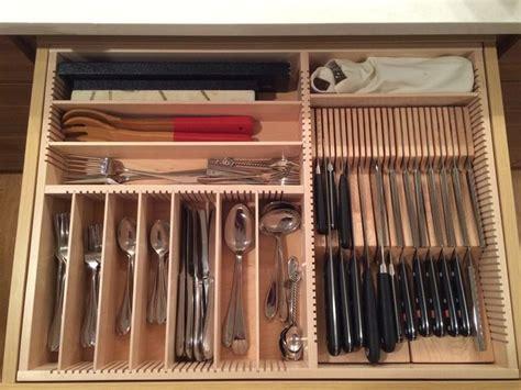 Kitchen Knife Drawer by Best 25 Cutlery Drawer Insert Ideas On