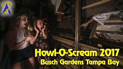 busch gardens howl o scream howl o scream 2017 highlights at busch gardens ta bay