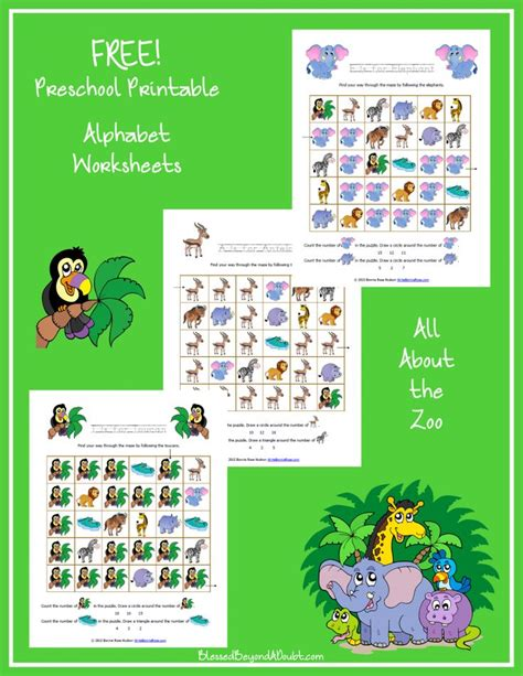 free zoo themed printable alphabet worksheets for 686 | faac200255a07611b576dcfa74ceab92 alphabet worksheets printable alphabet