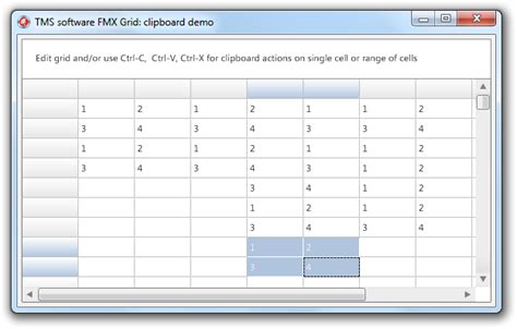 tms software tms pack for firemonkey tms firemonkey grid exle